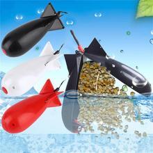 Alimentador de cohete de pesca de carpa, señuelo flotador de bomba de Spod grande y pequeño, soporte de cebo, alimentadores de cohete de Pellet de 2 tamaños, accesorios de engranaje de posición