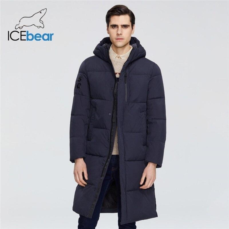 ICEbear 2021 جديد ملابس للرجال جودة عالية الشتاء الرجال سترة ماركة الملابس MWD19803I