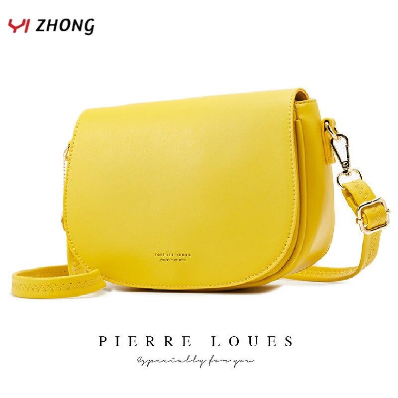 YIZHONG, bandolera de cuero a la moda, bolsos cruzados para mujer, bolsos de lujo, bolsos para mujer, bolsos de diseño para mujer, bolso bandolera