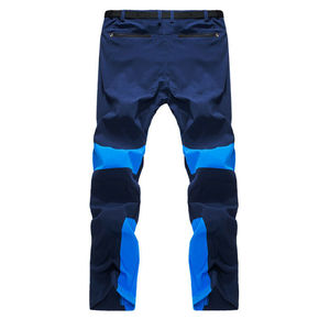 Unisersal Fashion Summer Men'ss Color Stitching Climbing Hiking Ski Camping Outdoor Casual Trousers