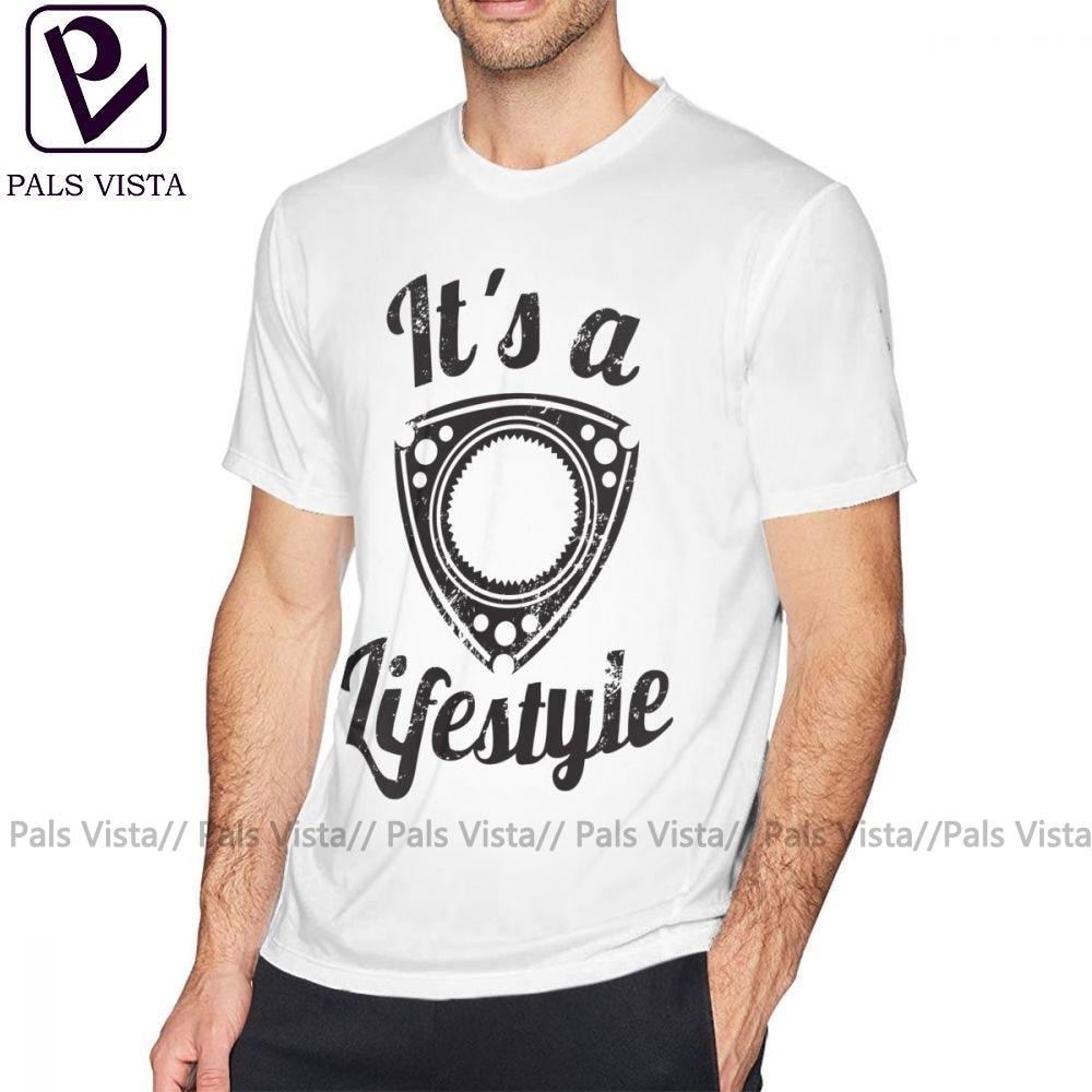 Rotary Engine T Shirt It Is A Lifestyle T-Shirt 100 Percent Cotton Graphic Tee Shirt Short-Sleeve Men Plus size Fashion Tshirt