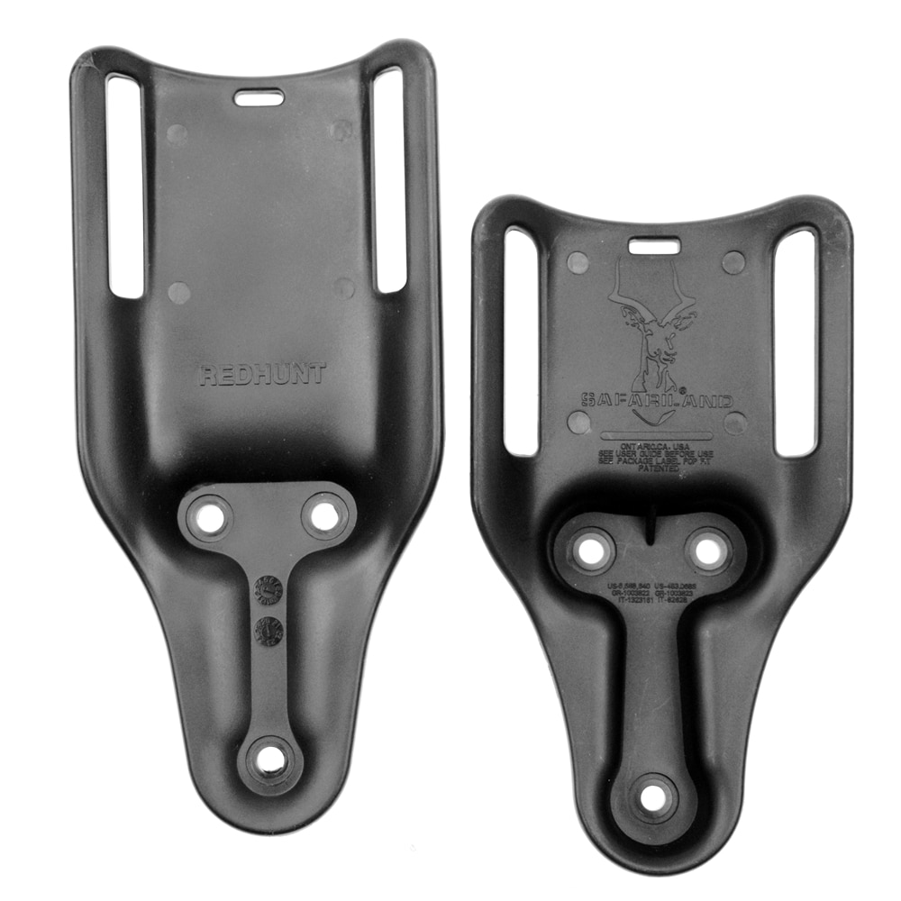 """Safariland Negro bajo cinturón Universal Loop Gun pistolera accesorios para cinturón de 2,25"""""""