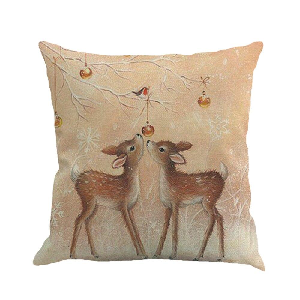 Poszewki Na Poduszki Yaoi funda de almohada decorativa estampado de Navidad teñido Yaoi cama de Fronha funda de almohada de hogar kissenbucle #37