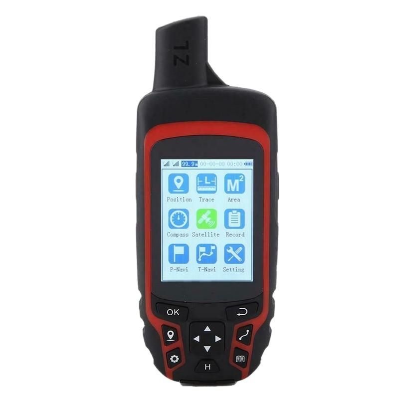 A6 handheld gps navegação bússola rastreador de localização ao ar livre usb recarregável