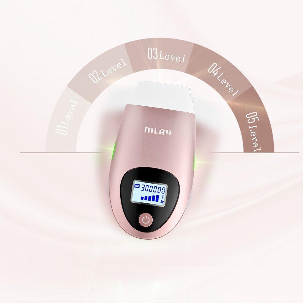 MLAY Laser Hair Removal Machine IPL Epilator Depilador a laser 500000 Flashes Facial Body Hair Removal Device Laser Epilator enlarge