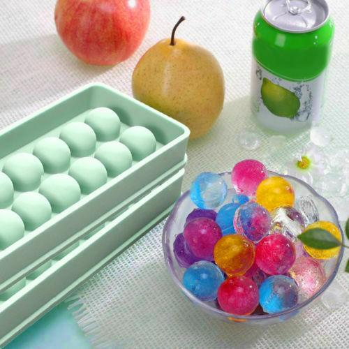 1Pcs 20 Hohlraum Silikon Ice Cube Mini Ice Ball Maker Silikon Ice Cube Trays Mould Kugel Ice Mold Maker form