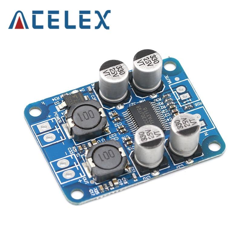 DC8-24V TPA3118 PBTL 60 Вт моно цифровой аудио усилитель плата AMP модуль чип 1X60W 4-8 Ом Замена TPA3110 для Arduino