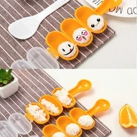1 pc creativity rice ball molds sushi mold maker diy sushi maker tools bento cooking utensil tools set accessories