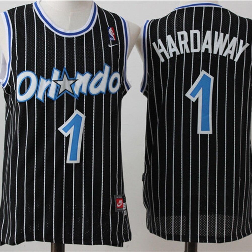Anfernee-Jersey de baloncesto de la NBA Orlando Magic #1 para hombre, Jersey...