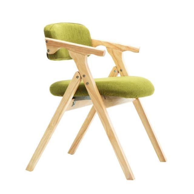 Современный минималистский обеденный стул скандинавский деревянный обеденный стул тканевый складной стул подлокотник спинка компьютерны...