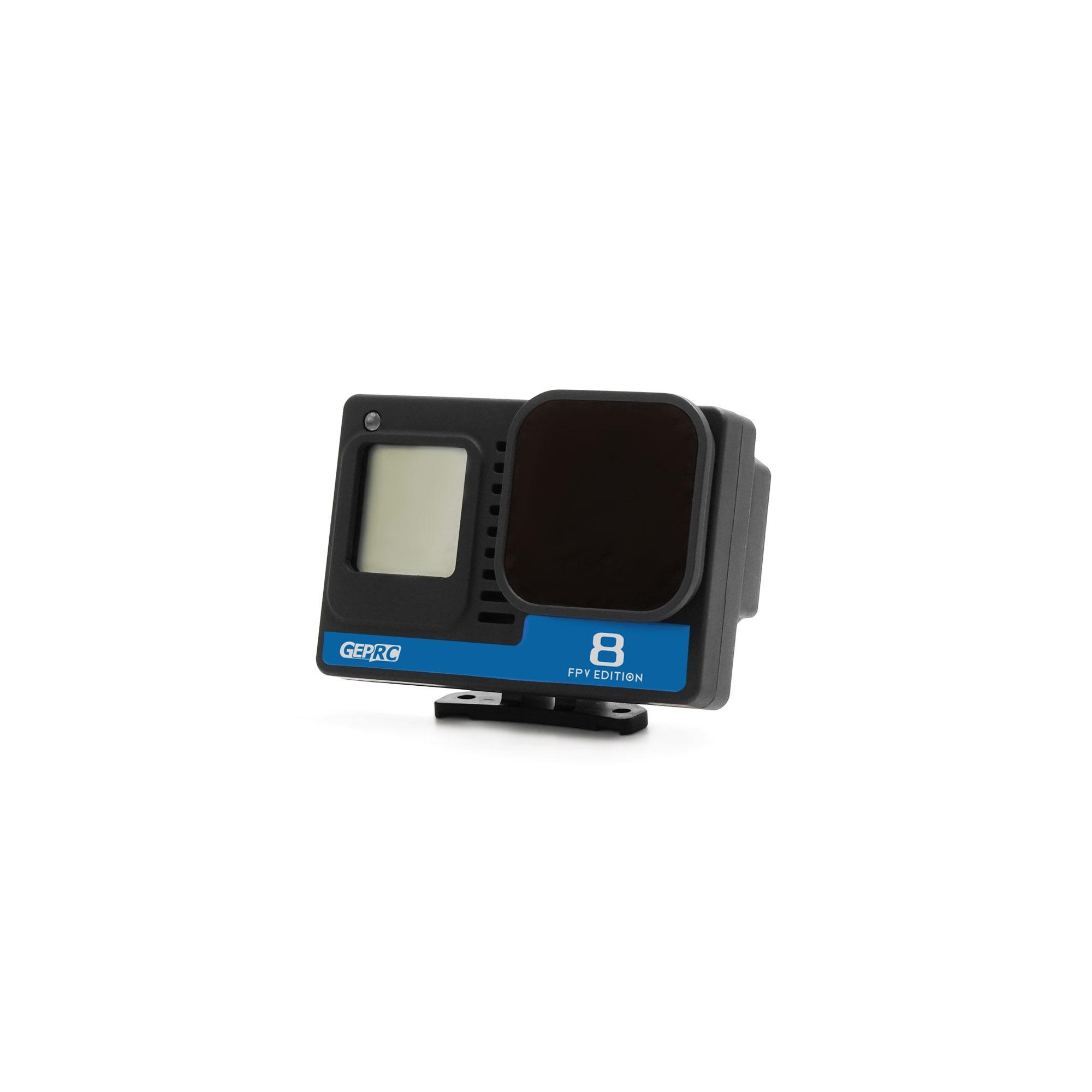 كاميرا كاملة من GEPRC موديل GoPro Hero 8 ذات دقة 4K 2-6S 25.7g لطائرة بدون طيار على شكل تاج HD على شكل تمساح 4 من طراز CineLog25