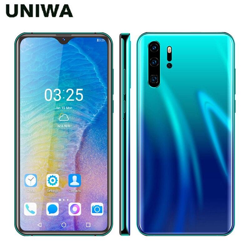 P30 PRO Smartphone 6,26 pulgadas teléfonos Android Quad Core 2GB RAM 32GB ROM Pantalla de gota de agua teléfono móvil tarjeta Dual 3000mAh batería