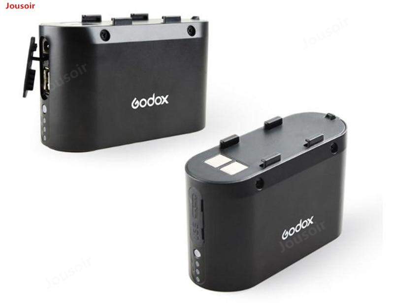 Godox BT5800 batería de 5800mAH de alimentación externa de Flash batería de salida de relleno rápido para LED y fuente de alimentación USB PB960 CD50 T03Y