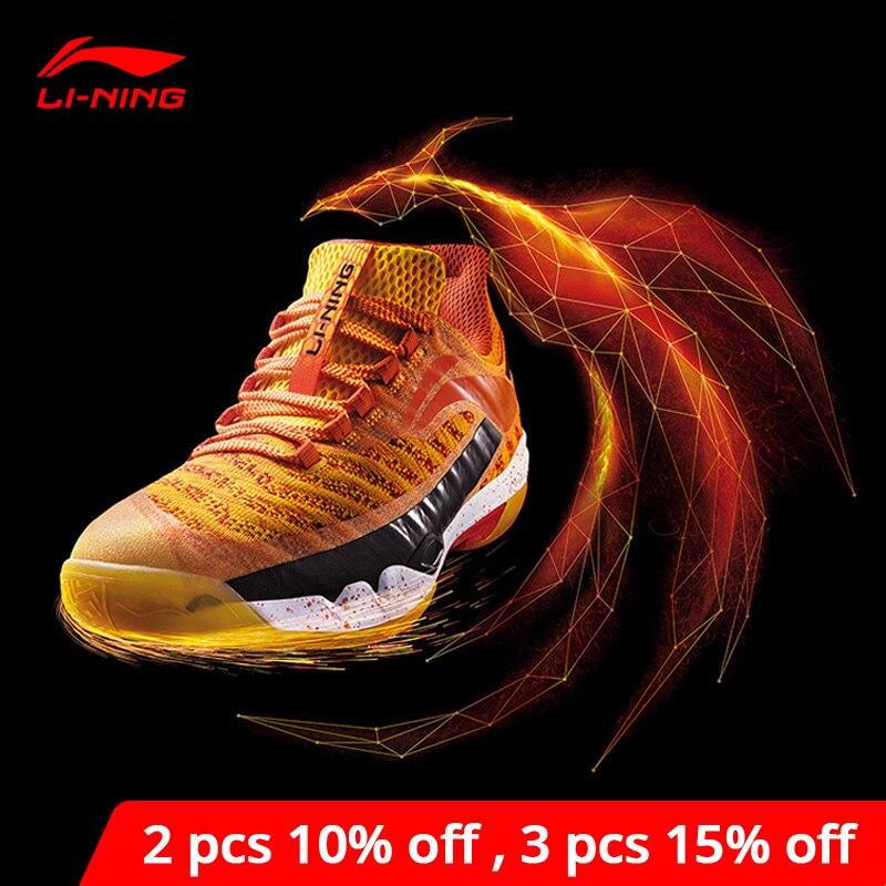 Li-Ning мужские PIONEER профессиональные бадминтон обувь LN BOUNSE подкладка подушки li ning носимые спортивные кроссовки AYAN011 XYY083