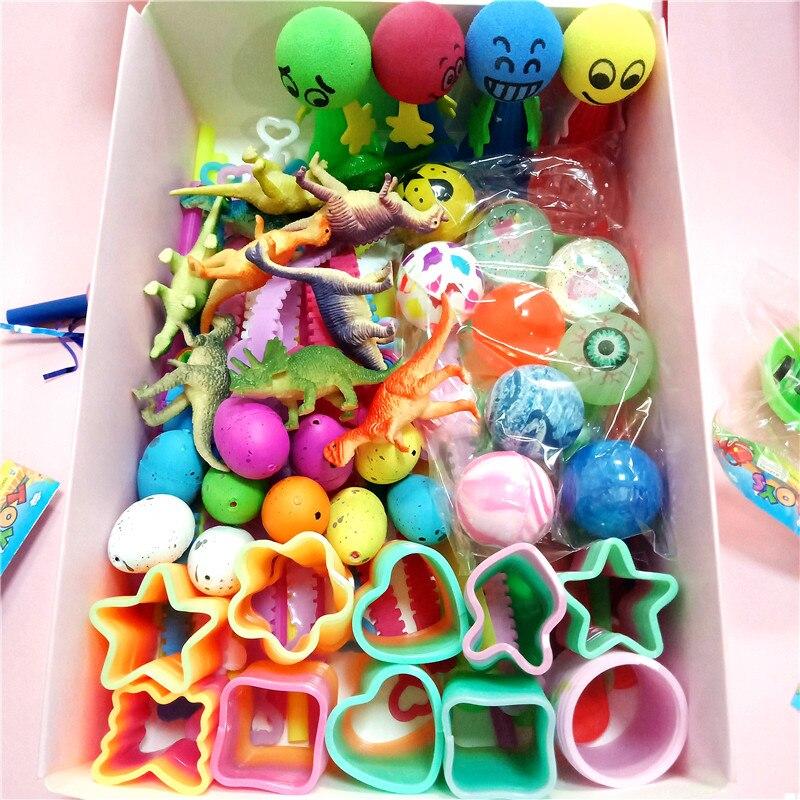 Lote de 100 unidades de pequeños juguetes de regalo para fiesta, pegatinas de unicornio, pulsera de silbato de dinosaurio para niños, fiesta de cumpleaños, niñas y niños
