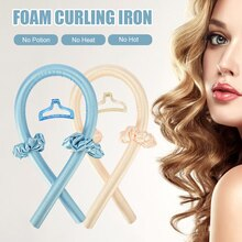 Heatless Curling Rod Women Magic Headband Lazy Curler Set Easy To Use Hair Curler Roller Curl Ribbon