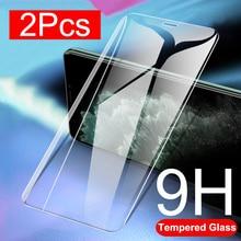 Coque de téléphone en verre trempé pour Apple IPhone 11 Pro 11Pro X XR XS MAX 2019 Film de protection sécurité sur I Phone 7 8 6 6S Plus couverture