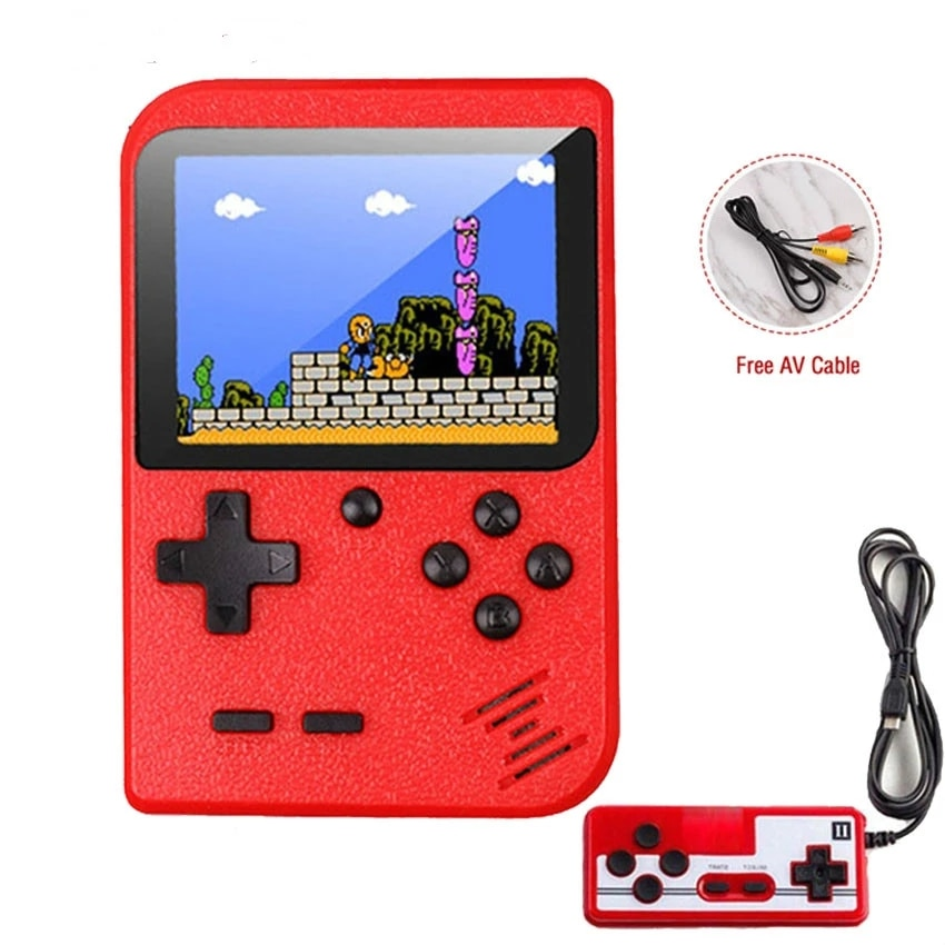 2021 New 400 In 1 Games MINI Portable Retro Video Console Handheld Game Players Boy 8 Bit 3.0 Inch Color LCD Screen Gameboy