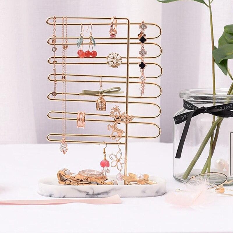 Jewelry Frame Bracelet Necklace Earring Ring Display Stand Window Display Back Jewelry Stand