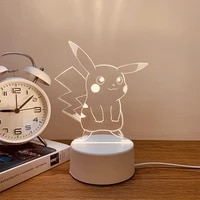 takara tomy creative 3d night light cute girl heart table lamp activity diy gift bedroom ins net red bedside table lamp