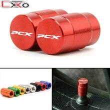 Bouchons de Valve pour pneus de moto   Bouchons hermétiques pour HONDA PCX 125 PCX125 PCX 150 PCX150 2010-2020 avec LOGO