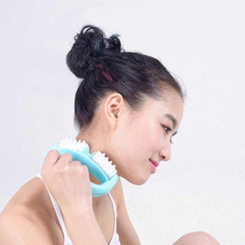 Portable D Type Fat Burner Roller Massage Cellulite Leg Abdomen Neck Buttocks Anti Cellulite Face Lift Slimer Derma Health Care