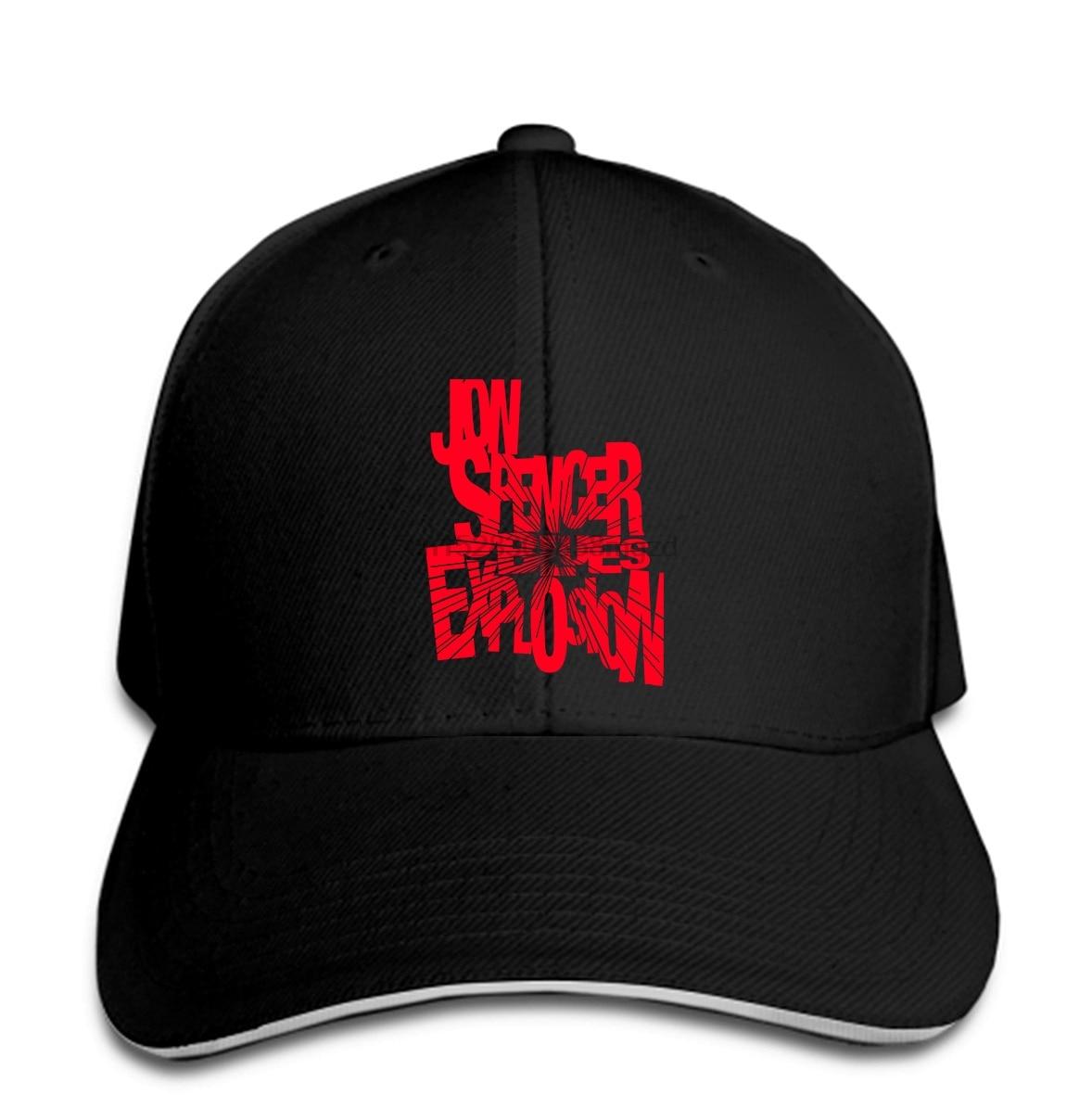 Gorra de béisbol con visera negra para hombre de la banda de Rock DE Jon Spencer Blues