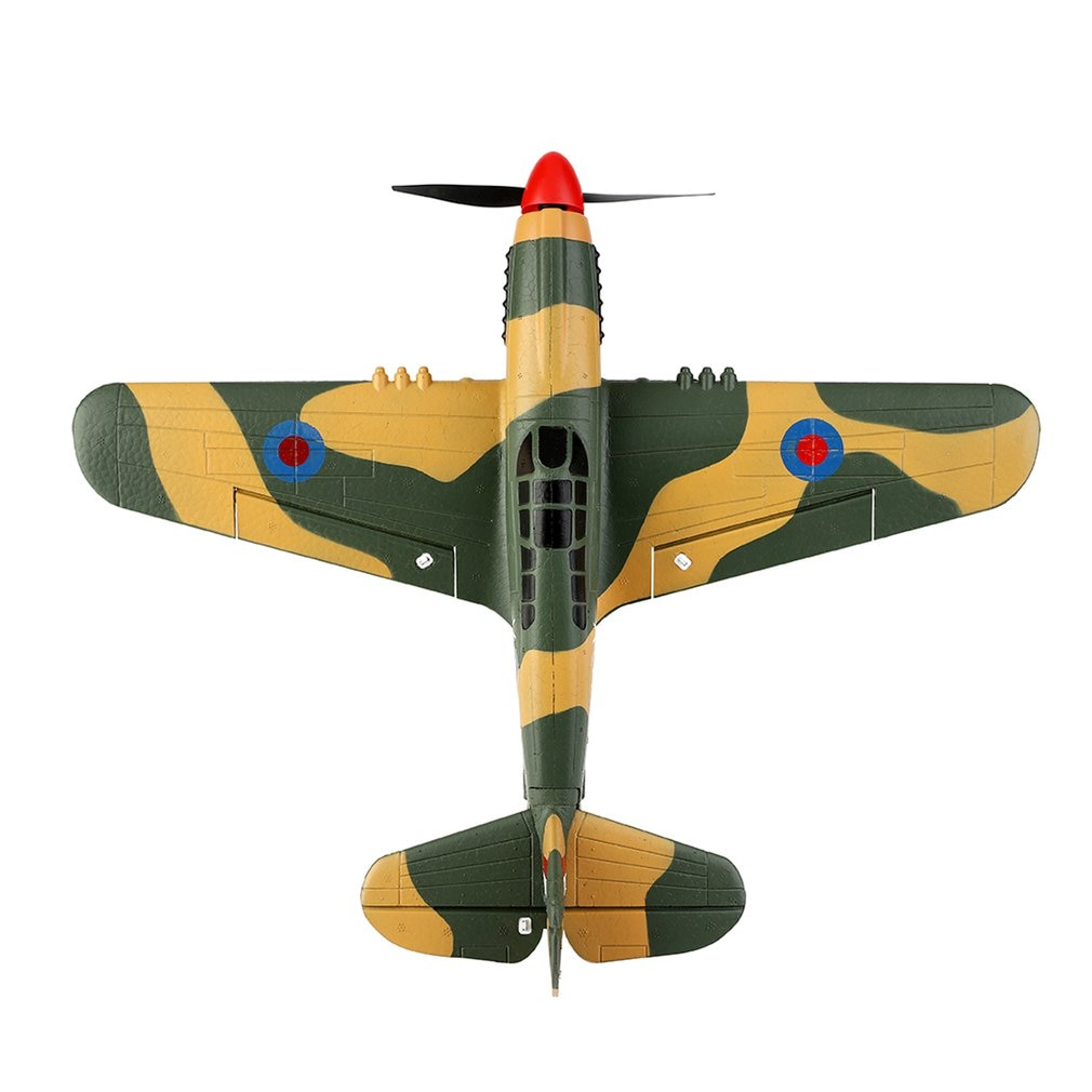 Wltoys RC Airplane  4CH Wingspan 3D Modle Like Real Machine P40 Fighter Remote Control Glider Unmanned Aircraft Outdoor Toy A220 enlarge