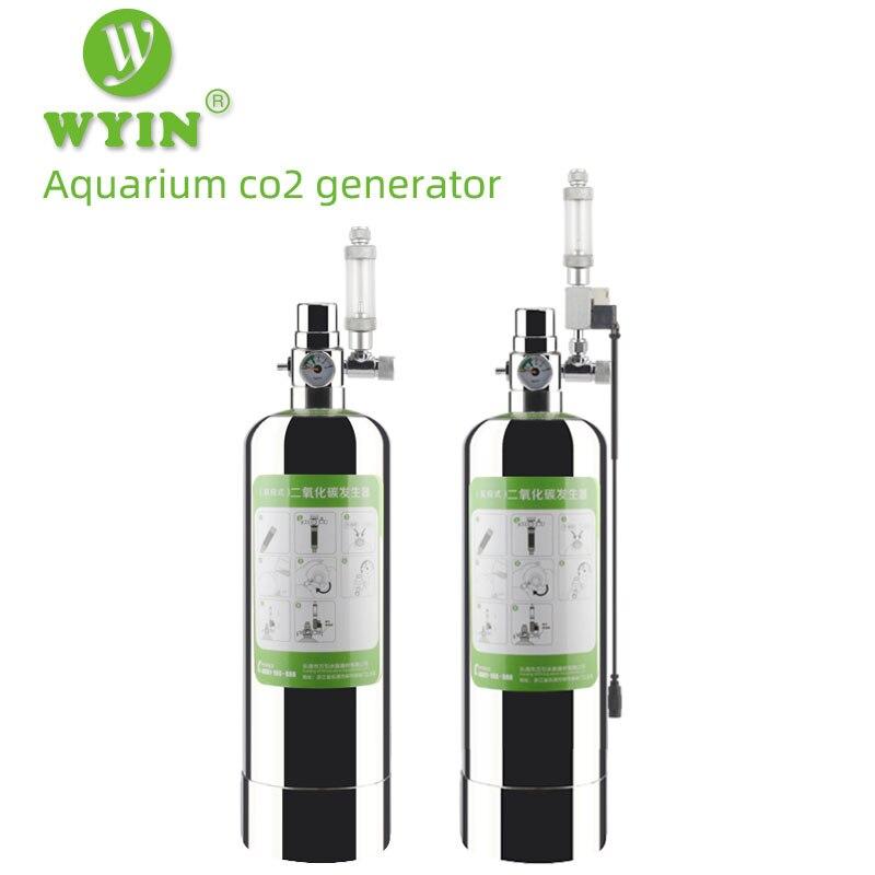 Gerador de Pressão para Aquário Ajustável para Plantas e Peixes Kit com Aparelho Gerador de Co2 Zrdr Sistema Reação