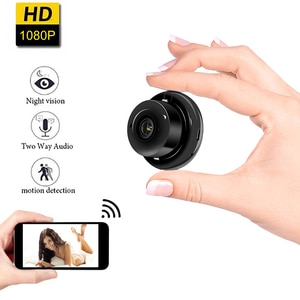 New HD Wireless Mini WIFI IP Camera Night Vision Smart Home Security Camcorders video Recorder DV cam support hidden TF card