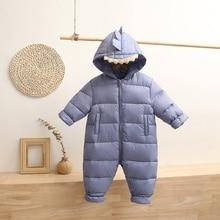 Newborn Clothes Baby Romper Winter Cartoon Cute Baby Girl Out Clothes Hug Clothes Infant Winter Clot