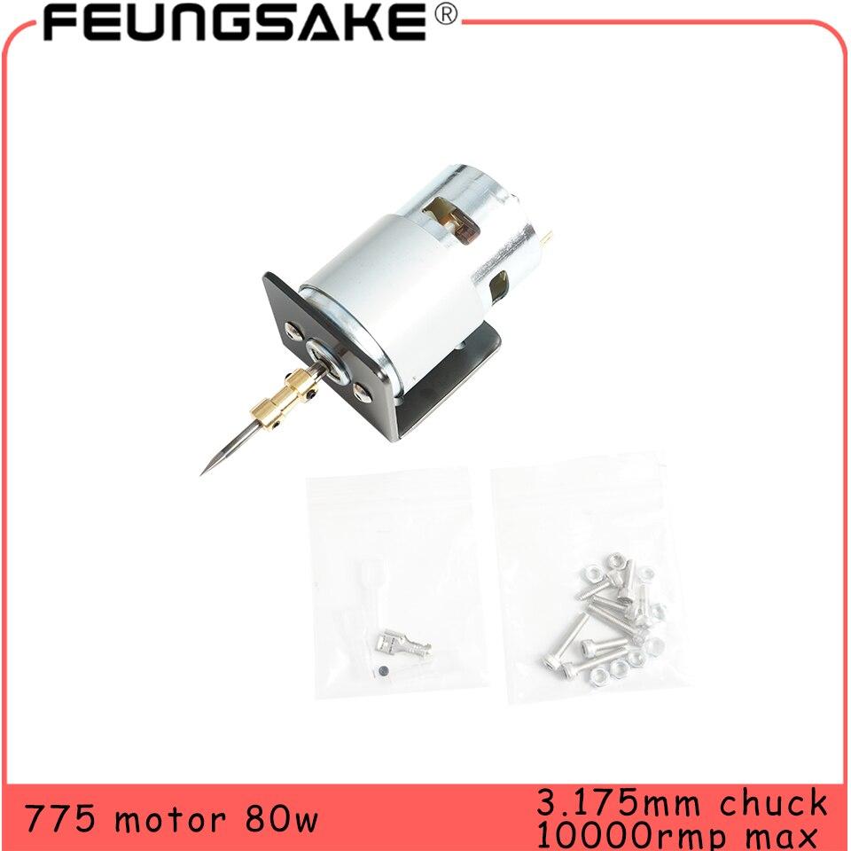 775 двигатель постоянного тока 12 В 10000 об/мин шариковый подшипник большой крутящий момент высокая мощность электронный компонент двигатель одиночный шариковый подшипник