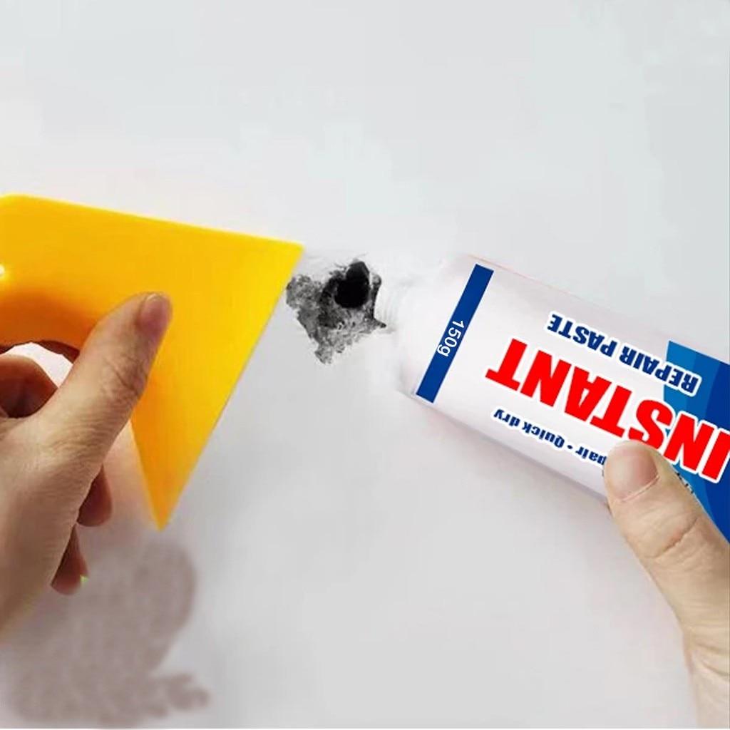 Wall Repair Cream 150g Magic White Latex Paint Instant Waterproof Repair Paste Easily Seal Holes Or Cracks Walls Repair Tool enlarge