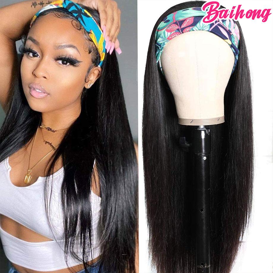 Бразильские Прямые искусственные волосы, человеческие волосы, волнистые волосы для черной женщины, 100% человеческие волосы, натуральные вол...