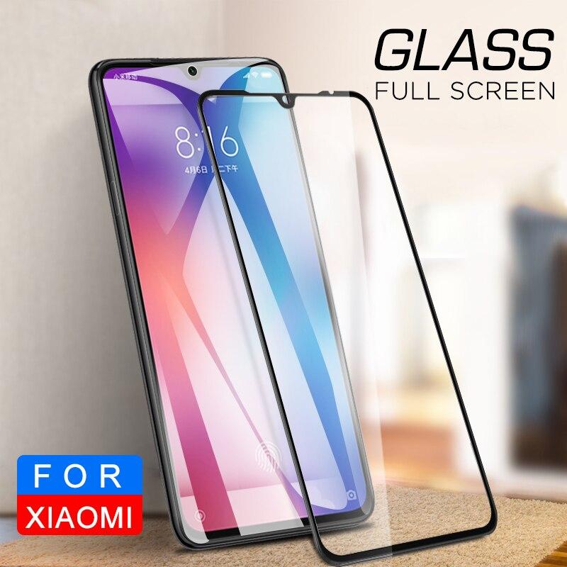 2 uds la cubierta de cristal para Xiaomi Mi 9 Pro 5G Mi9 Lite Nota 10 CC9 Pro CC9E 9T Pro 5G A3 Protector para Xiaomi Mi9T Pro cc9