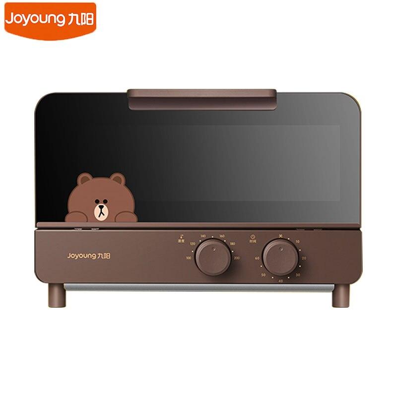 Joyoung J87 Cute Bear/Rabbit 220V Electric Oven Household Mini Bread Baking Machine 12L Capacity Infrared Heating Electric Baker