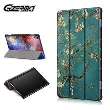 Gzerma Smart Case For Huawei MediaPad M5 Lite 10 Case For Huawei MediaPad M6 Tablet Funda Magnetic Cover For Huawei M5 Lite 8
