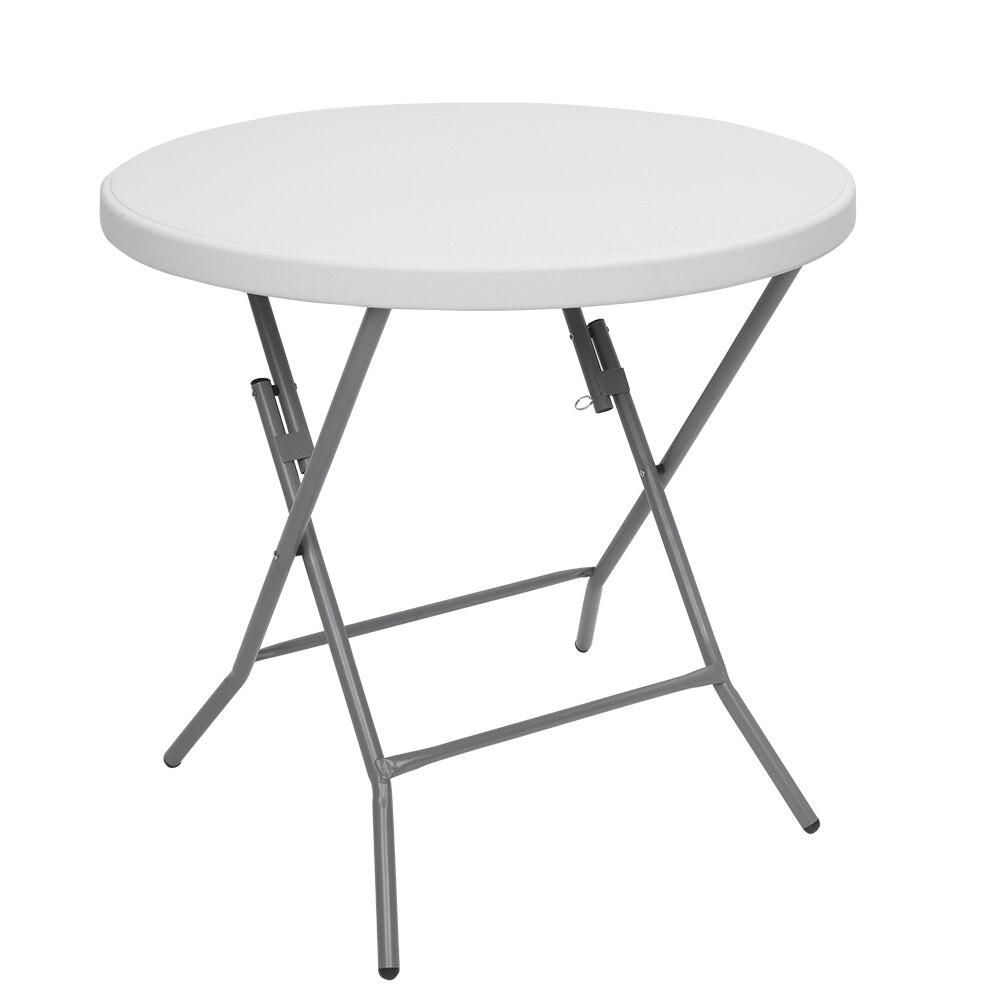 【Almacén de ee.uu. 】 mesa plegable redonda de 32 pulgadas mesa plegable...