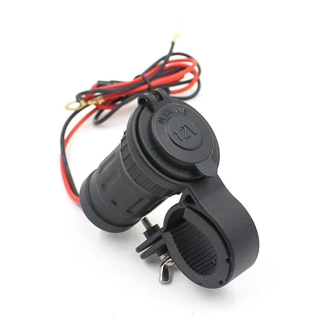 12-24V encendedor enchufe 12V impermeable coche barco motocicleta manillar encendedor enchufes enchufe de corriente