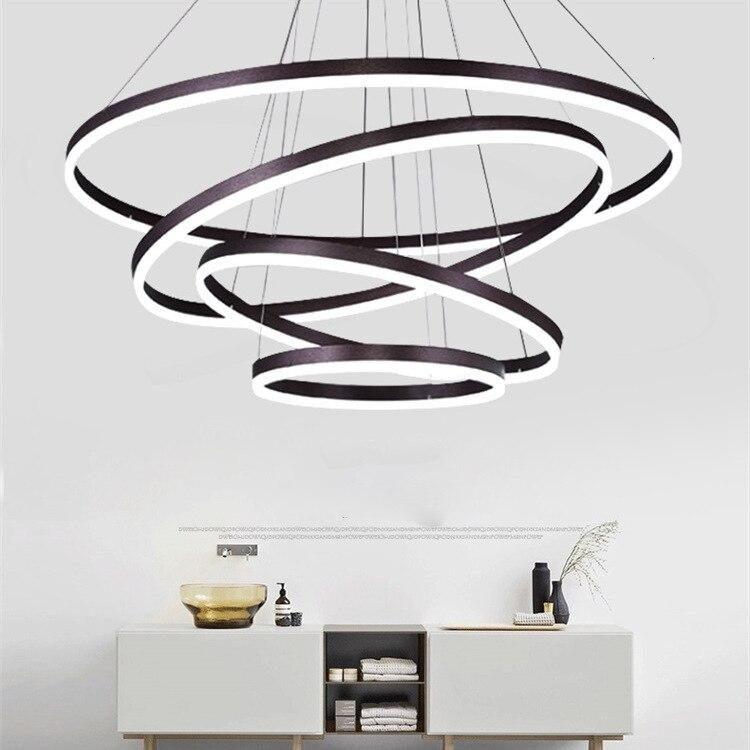 Lámpara led nórdica de techo, iluminación de plafón, para comedor, sala de...
