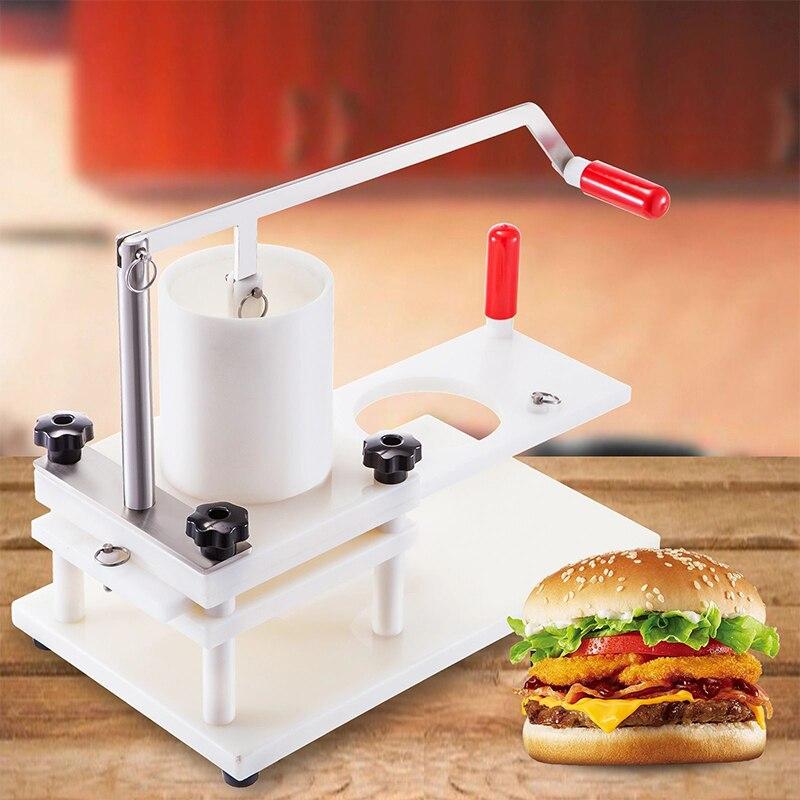 البلاستيك همبرغر تشكيل آلة تصدير دليل بي همبرغر قالب آلة خاصة لحوم البقر الصحافة آلة HR-130