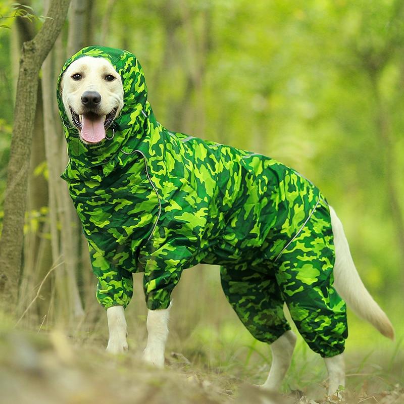 Imbracaminte impermeabilă impermeabilă pentru câini pentru animale - Produse pentru animale de companie - Fotografie 2