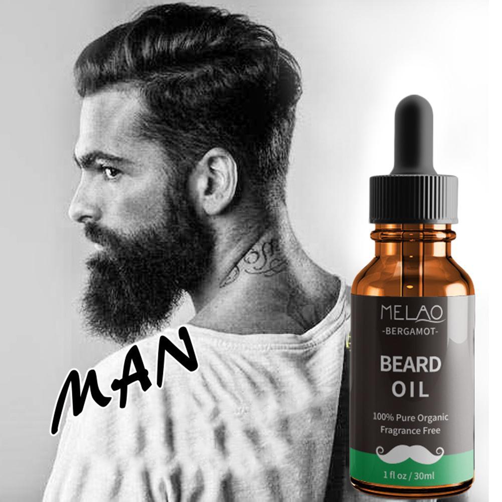 Beard Growth Oil Hair Growth Agent Thickener Hair Beard Care Product Anti Hair Loss Tonic Grow Beard Treatment Hair Serum 30ml