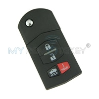 BGBX1T478SKE12501 Flip remote car key 4 button 315Mhz 4D63 80bit chip for Mazda 3 6 MX-5 remtekey