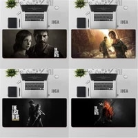 gaming mouse pad large mouse pad pc gamer computer mouse mat big mousepad the last of us xxl carpet keyboard desk mat mause pad