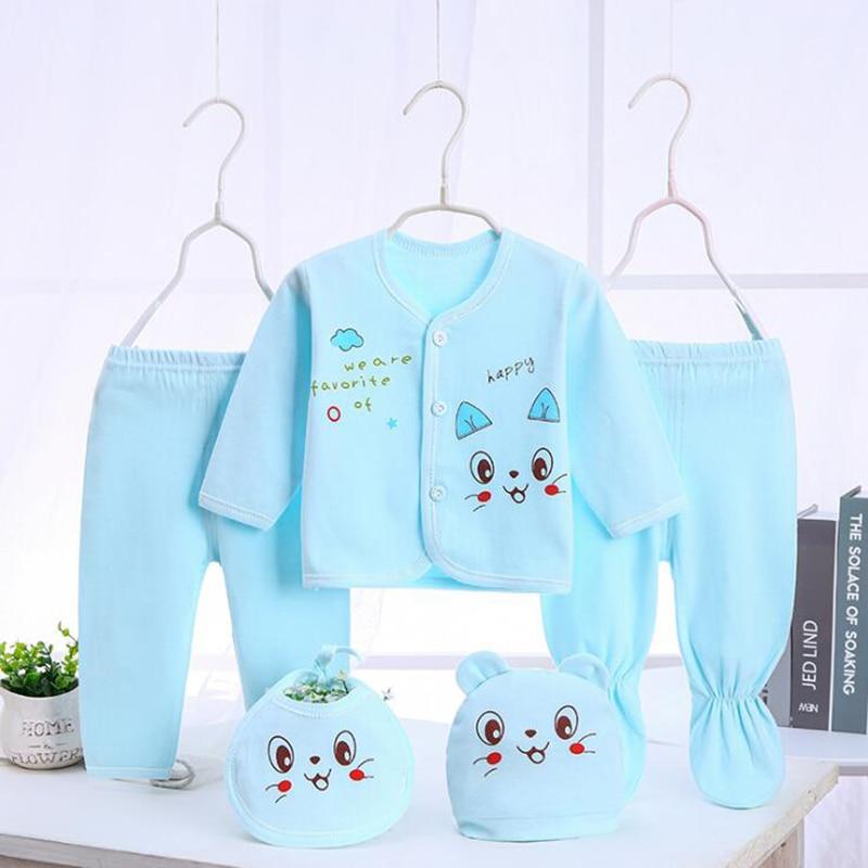 Bekamille juegos para bebés recién nacidos (5 unids/set) ropa suave de algodón moda niños niñas trajes