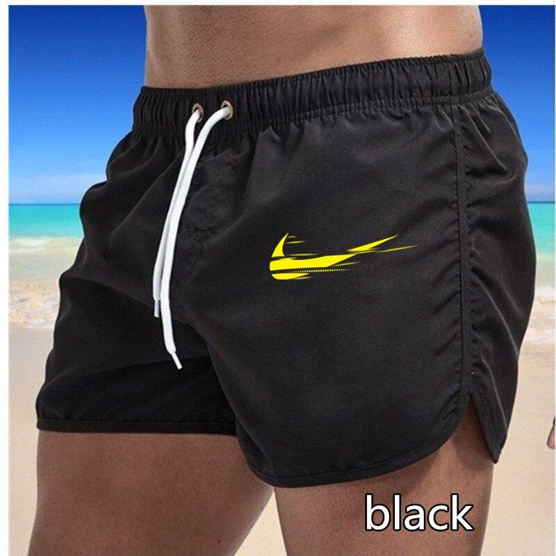 2021 New Summer Casual Shorts Men Brand Men Solid Color Comfortable Shorts Slim Drawstring Beach Shorts Male