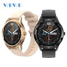 WRWR 2021 Smart Watch Men Full Touch Fitness Tracker IP67 Waterproof Women Smartwatch For Samsung Ap