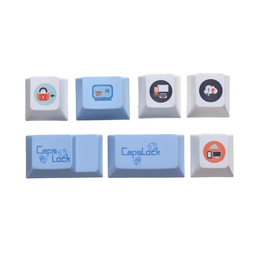 108/130 مفاتيح Keycap مجموعة الأصلي ارتفاع لوحة المفاتيح Keycap خمسة الوجهين التسامي الكرز الشخصي PBT Keycap للوحة المفاتيح الميكانيكية