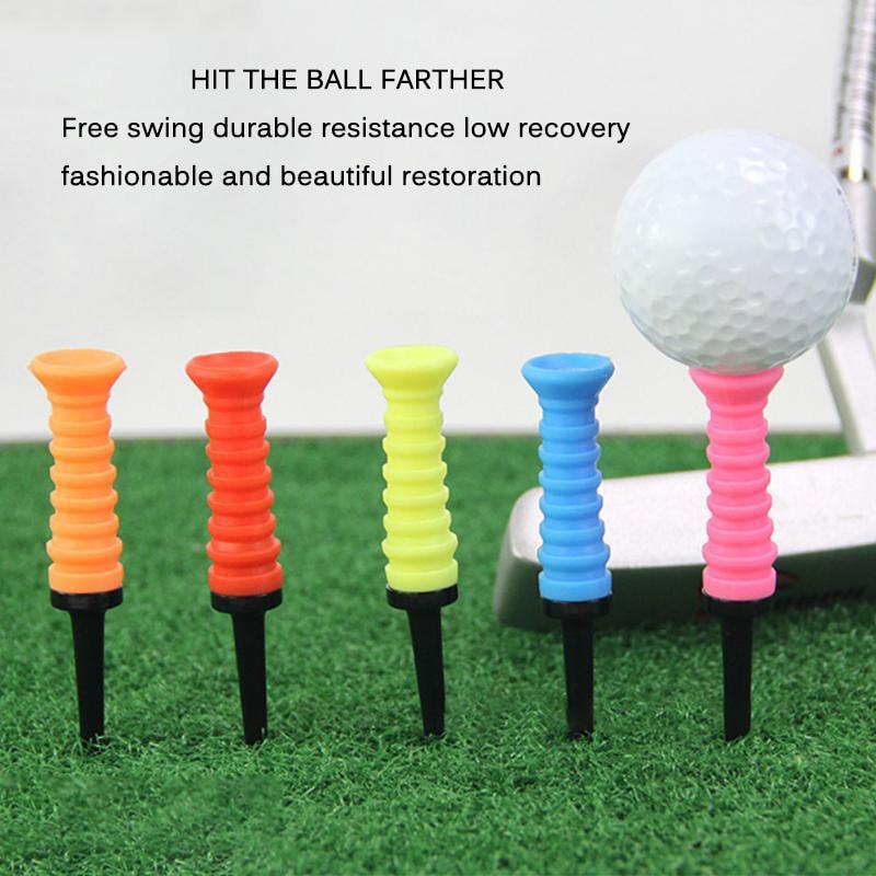 Professional Exercises Ball Holder Practical Training Aids Portable Plastic Golfing Golf Tee Elastic